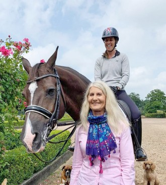 Wendy Barker with Charlotte & Valegro